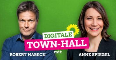 TownHall - Meeting - Anne Spiegel/Robert Habeck